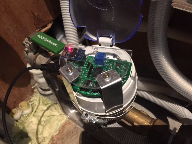 Watermeter with ESP8266 - Domoticz